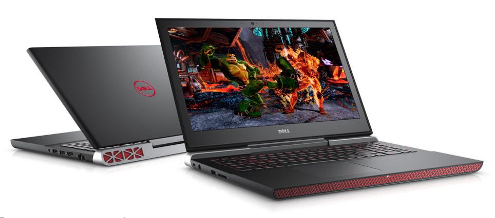 Dell Inspiron N7566 (Core i5-6300HQ, RAM 8GB, HDD 1TB, VGA 4GB NVIDIA GeForce GTX 960M, 15.6 inch full HD 1920×1080)