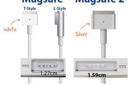 Phân biệt Sạc Macbook magsafe 1 và magsafe 2